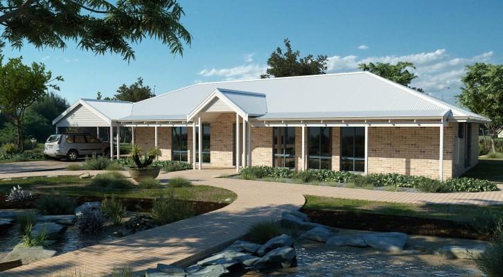 Australian Farmhouse Traditional Farmhouse Perth WA