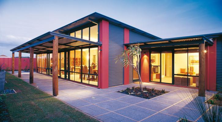 Verandah House Designs Skillion Alfresco Home Designs The Rivergum