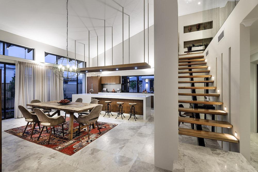Bletchley loft featured in houzz the rural building co for Loft home designs perth