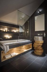 Rural Building Co - Bathroom with earthy elements