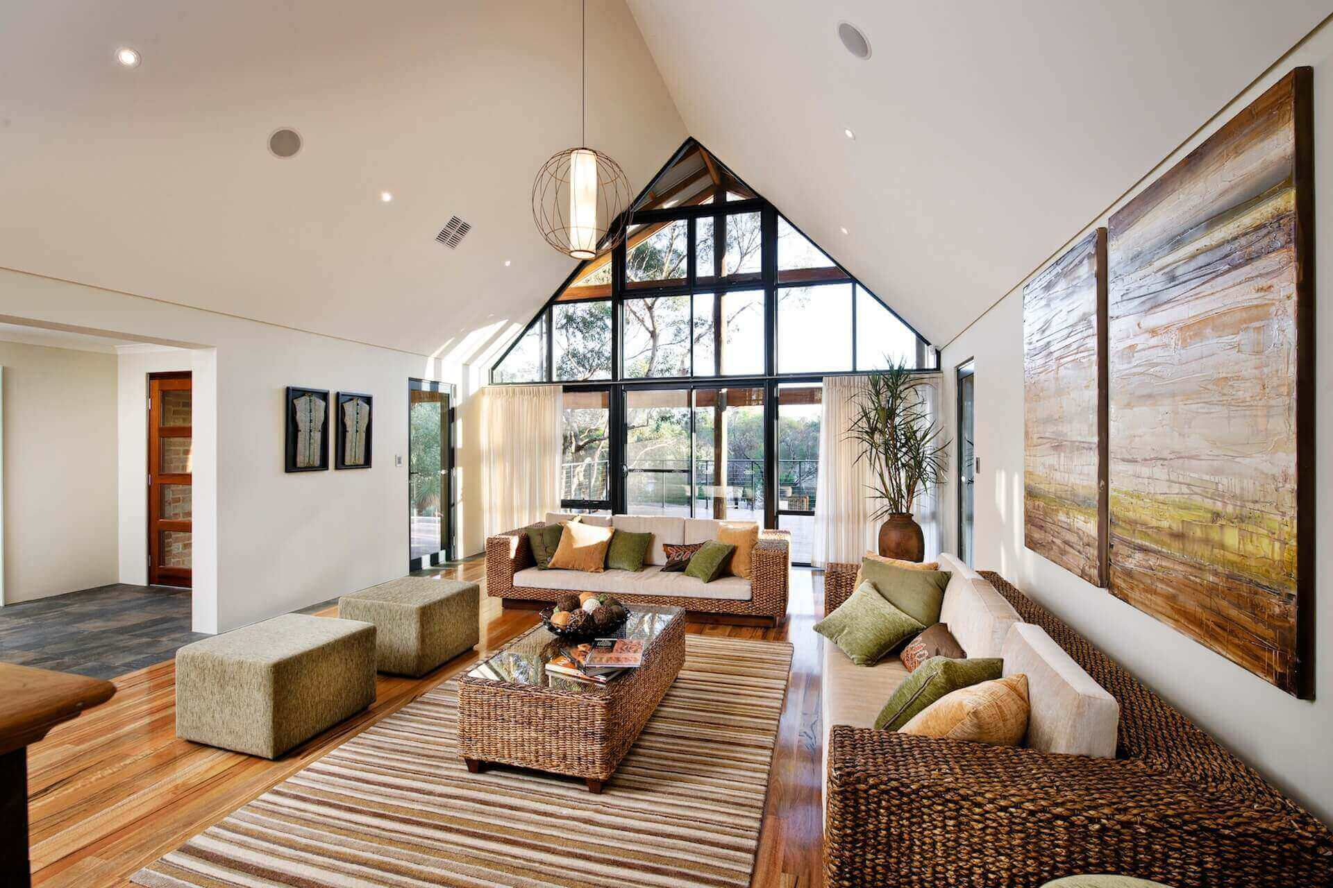 Rural Building Co - Australian country Argyle home - lounge