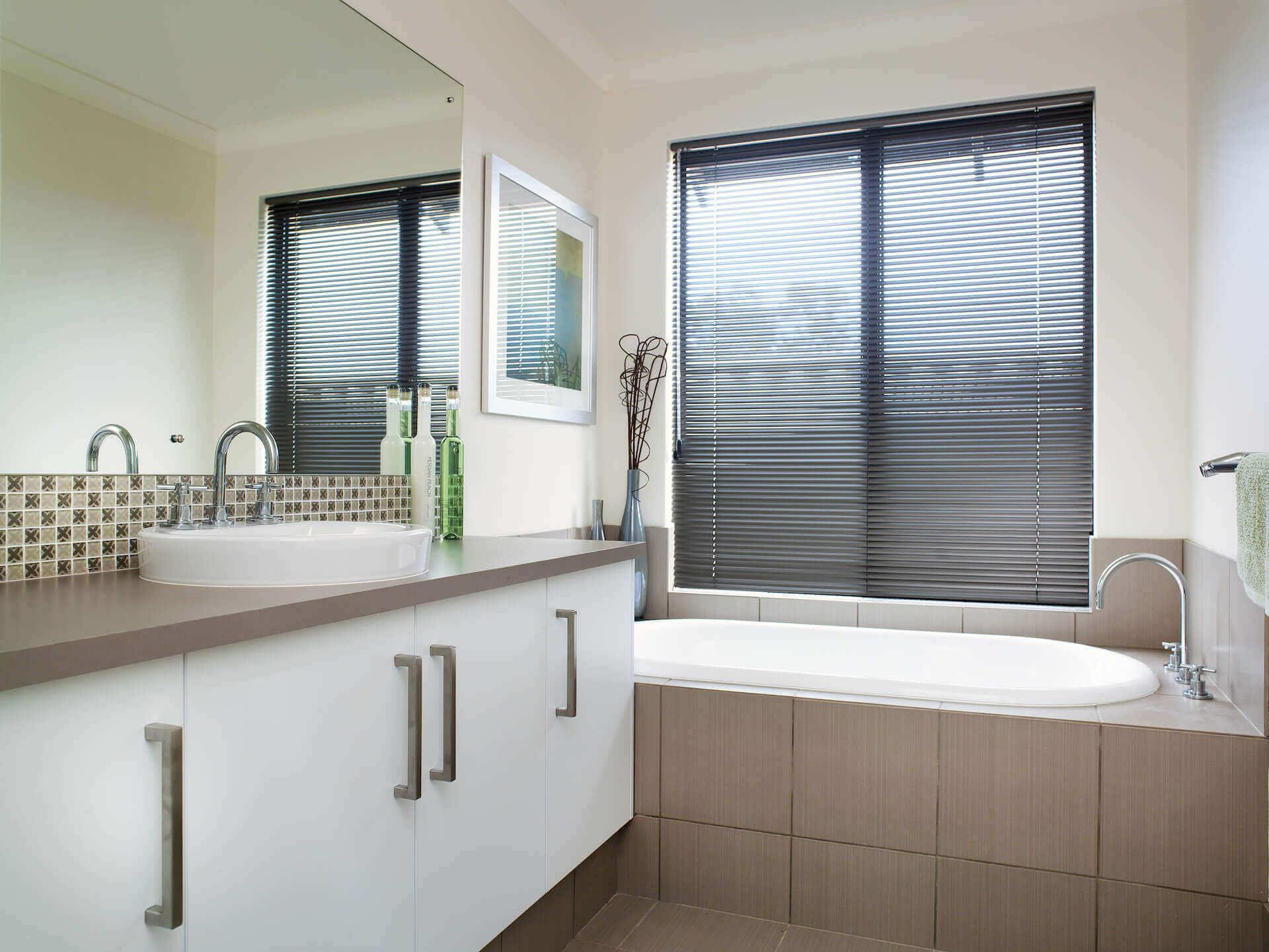 Rural Building Co - The Coastal View home - bathroom with bathtub