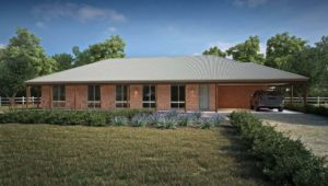 Rural Building Co - The Kanowna - affordable farmhouse design with red bricks